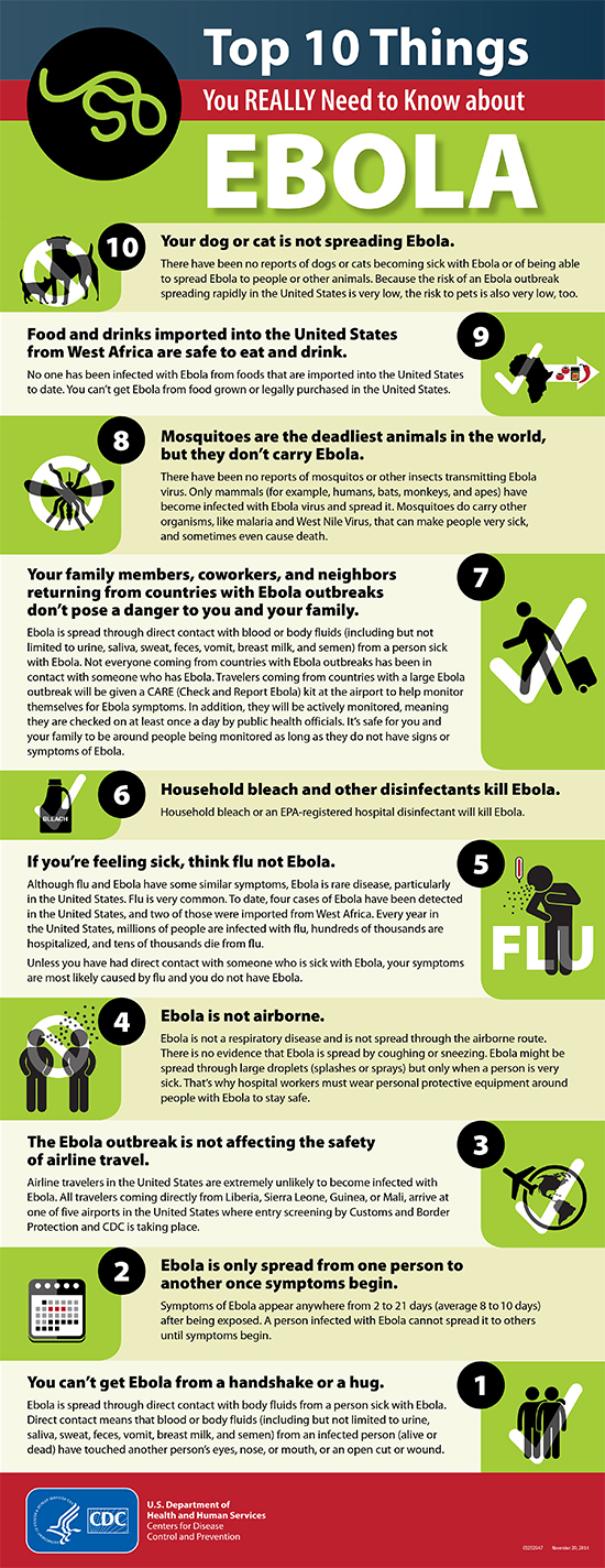 Ebola Facts Infographic